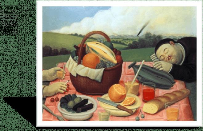 Botero Picknick