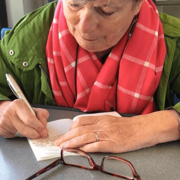 """Beitrag zum Wettbewerb """"Notizbuch"""" von Maria Unger"""